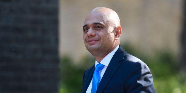 Sajid Javid, Storbritanniens inrikesminister. DANIEL LEAL-OLIVAS / AFP