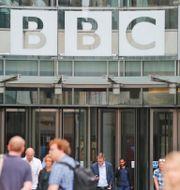 BBC:s kontor i London. Frank Augstein / TT NYHETSBYRÅN