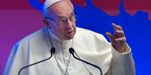 Påve Franciskus. TIZIANA FABI / AFP