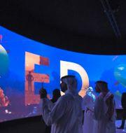 En tre dagar lång konferens hålls i Saudiarabiens huvudstad Riyadh. FAYEZ NURELDINE / AFP