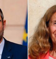 Edouard Philippe och Nicole Belloubet. TT