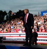 Donald Trump. Jason Behnken / TT NYHETSBYRÅN