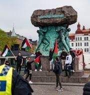 Propalestinsk demonstration i Malmö i veckan. Johan Nilsson/TT / TT NYHETSBYRÅN