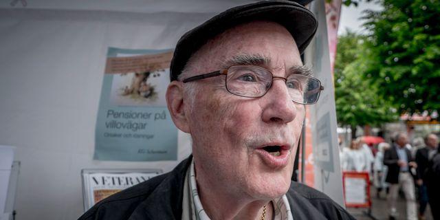 KG Scherman, tidigare generaldirektör för Riksförsäkringsverket. Arkivbild. Magnus Hjalmarson Neideman/SvD/TT