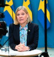 Magdalena Andersson. Fredrik Sandberg/TT / TT NYHETSBYRÅN