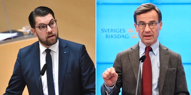 Åkesson och Kristersson TT