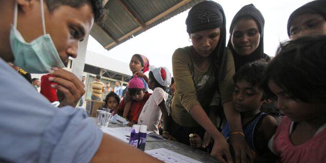 Burma kastar ut fn chefen