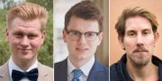 Anton Sauer (CUF)/Simon Palme (C)/Niels Paarup-Petersen (C).  CUD/Centerpartiet/TT