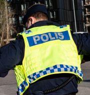 Polis. Arkivbild.  Martina Holmberg / TT / TT NYHETSBYRÅN