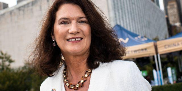 Utrikesminister Ann Linde (S). Arkivbild. Pontus Lundahl/TT / TT NYHETSBYRÅN