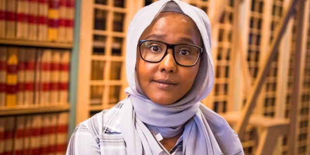 Leila Ali Almi (MP) i september 2018. Hanna Franzén/TT / TT NYHETSBYRÅN