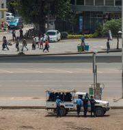 Säkerhetsstyrkor i Etiopien. Mulugeta Ayene / TT NYHETSBYRÅN/ NTB Scanpix