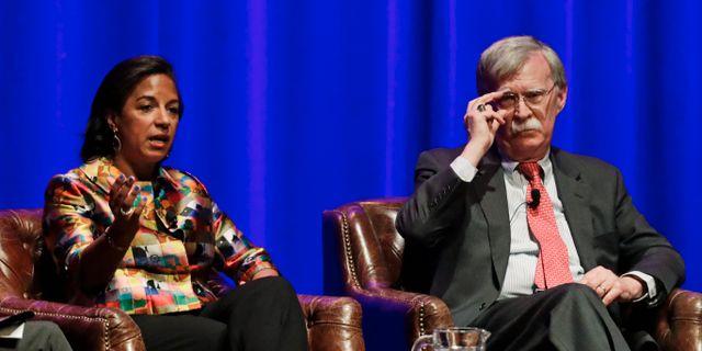 John Bolton under ett panelsamtal i Nashville. Mark Humphrey / TT NYHETSBYRÅN
