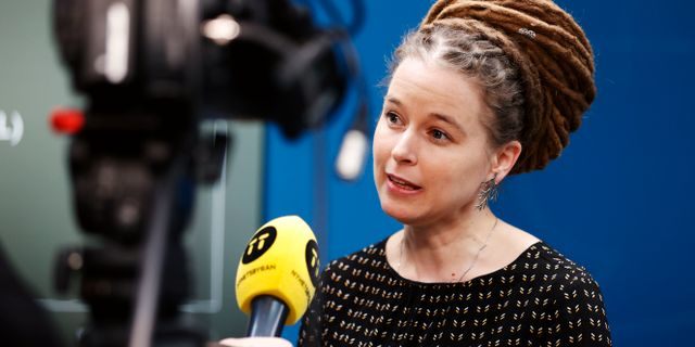 Amanda Lind  Nils Petter Nilsson/TT / TT NYHETSBYRÅN