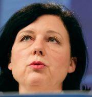 EU-kommissionens vice ordförande Věra Jourová. Stephanie Lecocq / TT NYHETSBYRÅN