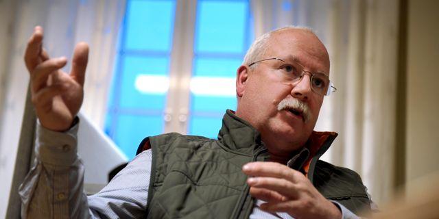 Polisen Gunnar Appelgren, som är expert på gängkriminalitet. Janerik Henriksson/TT / TT NYHETSBYRÅN