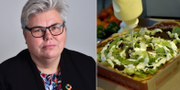 Maria Gardfjell (MP) / en pizza. TT