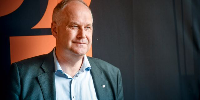 Vänsterledaren Jonas Sjöstedt.  Henrik Montgomery/TT / TT NYHETSBYRÅN