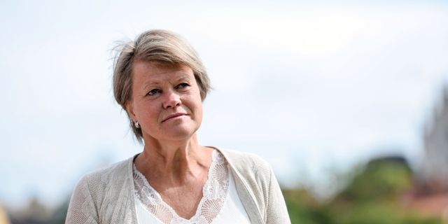 Ulla Andersson (V). Henrik Montgomery/TT / TT NYHETSBYRÅN