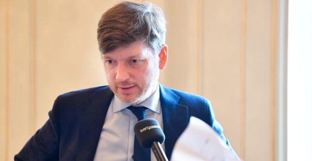 Martin Ådahl (C). Henrik Montgomery/TT / TT NYHETSBYRÅN