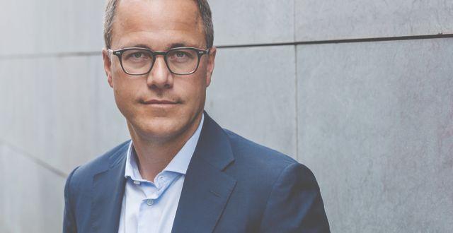 Martin Wallin, förvaltare av Sverigefonden Lannebo Sverige Plus. Photographer Camilla Lindqvist