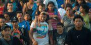 Migranter i Mexiko på väg mot USA. Marco Ugarte / TT NYHETSBYRÅN/ NTB Scanpix