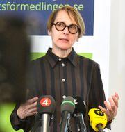 Arkivbild: Arbetsförmedlingens analyschef Annika Sundén.  Claudio Bresciani/TT / TT NYHETSBYRÅN