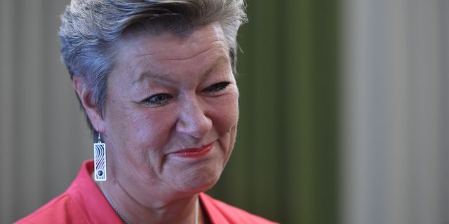 Arbetsmarknadsminister Ylva Johansson (S).  TT
