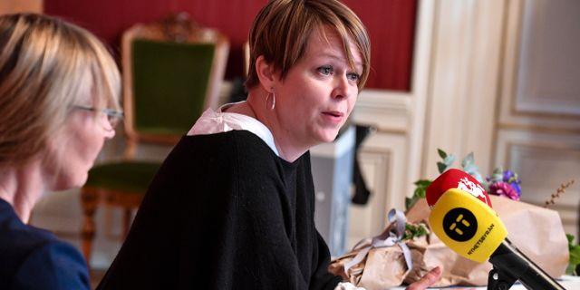 Katrin Stjernfeldt Jammeh (S). Johan Nilsson/TT / TT NYHETSBYRÅN