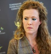 Barnmorskan Ellinor Grimmark. FREDRIK PERSSON / TT / TT NYHETSBYRÅN