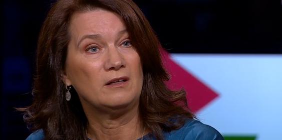 Utrikesminister Ann Linde (S). Arkivbild. SVT/Skärmdump
