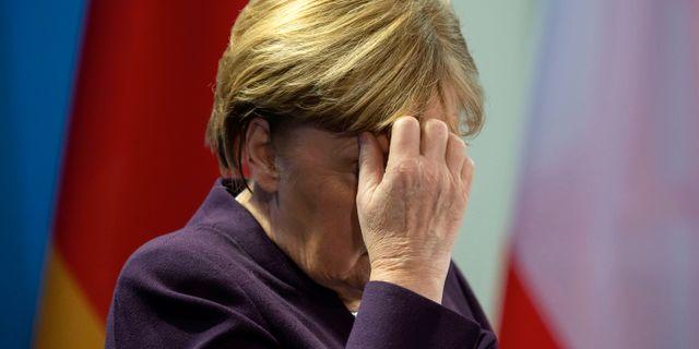 Angela Merkel , arkivbild. Jens Meyer / TT NYHETSBYRÅN