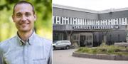 Arkivbilder. Svenska Nyheters programledare Jesper Rönndahl (t v). TT