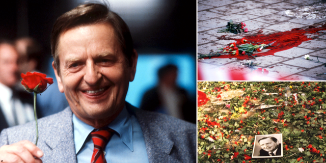 Olof Palme 1985/Bilder från mordplatsen 1986. TT