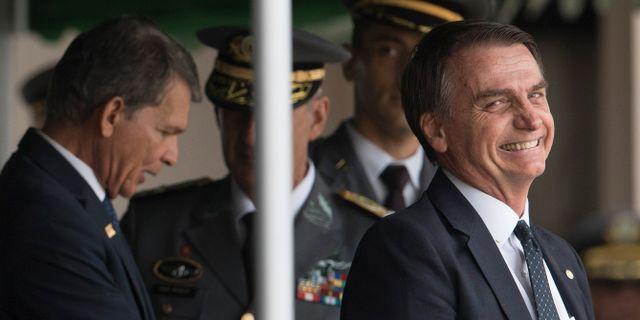 Jair Bolsonaro Leo Correa / TT NYHETSBYRÅN/ NTB Scanpix