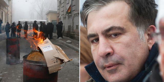 Saakasjvili riskerar atal efter val