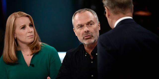 Annie Lööf (C) och Jan Björklund (L). Stina Stjernkvist/TT / TT NYHETSBYRÅN