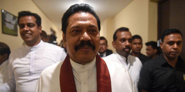 Mahinda Rajapakse ISHARA S. KODIKARA / AFP