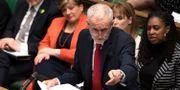 Labourledaren Jeremy Corbyn i brittiska parlamentets underhus. Jessica Taylor / TT NYHETSBYRÅN/ NTB Scanpix