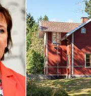 Annelie Nordström, och huset som ska säljas