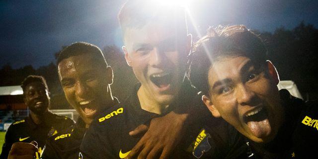 AIK är ett av de lag som tagit fram flera unga talanger under året. Bildbyrån