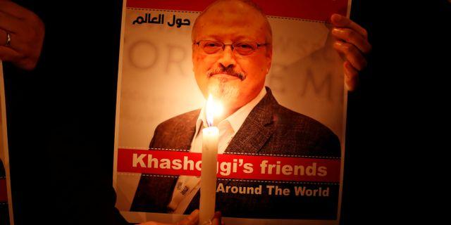 Den mördade journalisten Jamal Khashoggi.  Osman Orsal / TT NYHETSBYRÅN