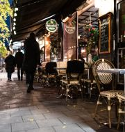 En folktom krog i Stockholm.  Amir Nabizadeh/TT / TT NYHETSBYRÅN