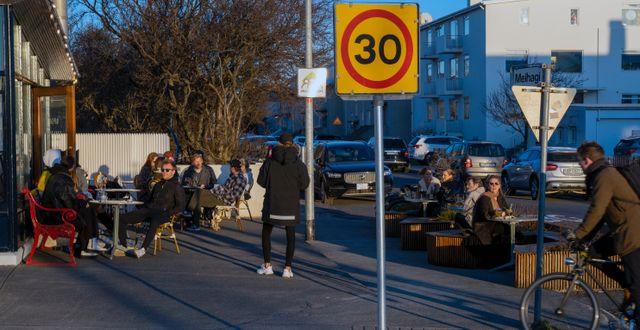 Arkivbild från Reykjavik i april 2020 Egill Bjarnason / TT NYHETSBYRÅN