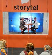 Arkivbild: Storytels monter på bokmässan i Göteborg 2016.  Fredrik Sandberg/TT / TT NYHETSBYRÅN