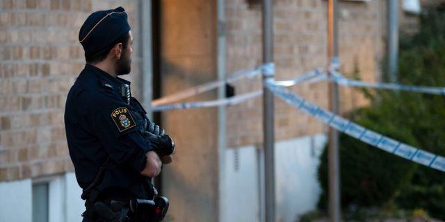 Polisen misstanker trebarnsmamma bortrovad