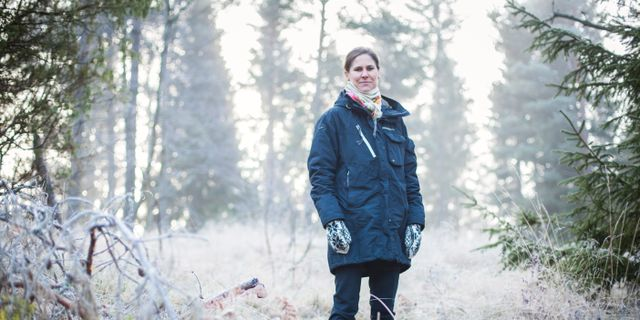 Johanna Sandahl, Naturskyddsföreningens ordförande. Fredrik Hjerling