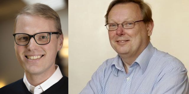 Fredrik N G Andersson och Lars Magnusson.