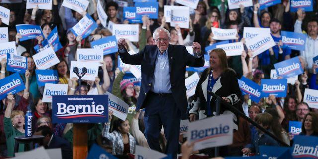 Bernie Sanders. Charles Krupa / TT NYHETSBYRÅN