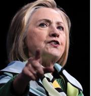 Hillary Clinton och Donald Trump. TT